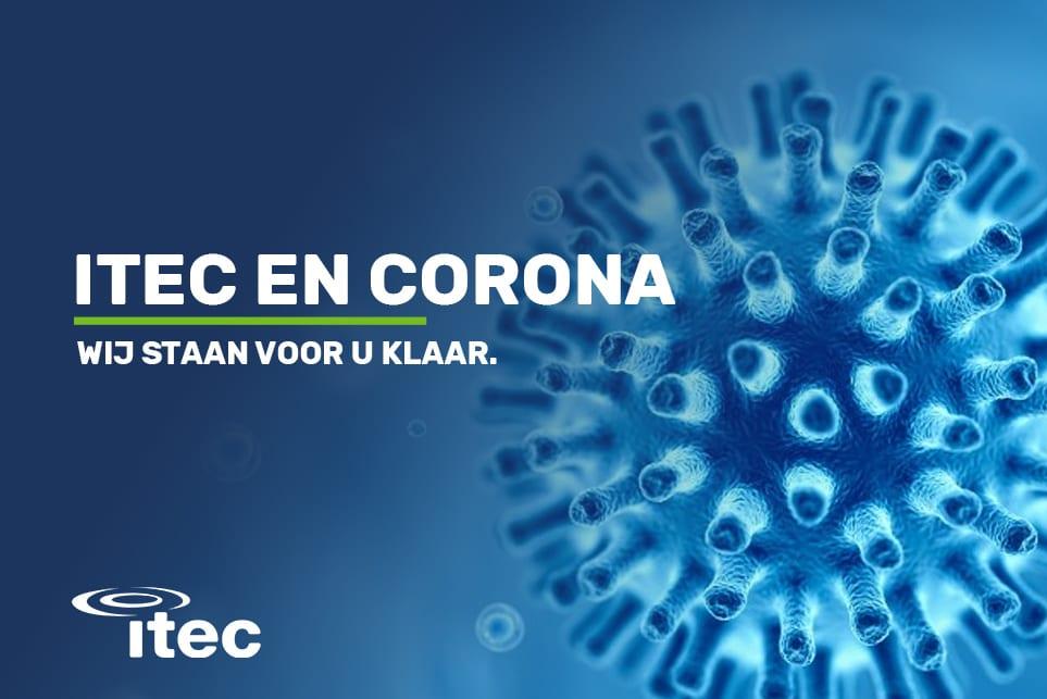 Itec omtrent het CORONA Virus (COVID-19)