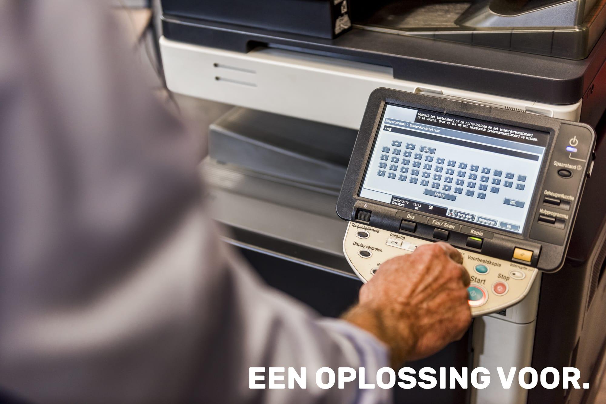 Een oplossing voor: Het vereenvoudigen van het beheer van uw printerpark