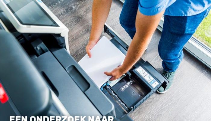 Een onderzoek naar het reduceren van Papierverbruik